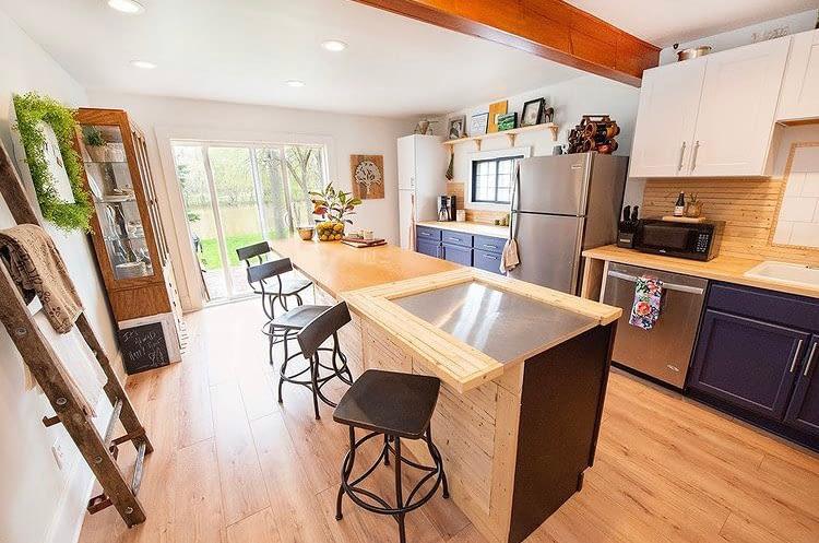 Kitchen Renovation at Little River House: After
