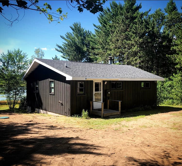 Exterior of Camp Miller Vacation Rental